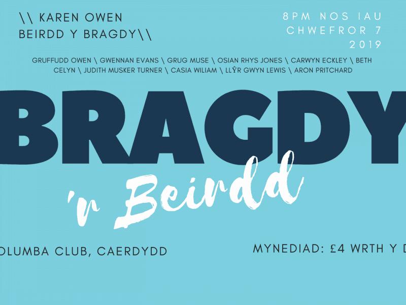 Bragdy'r Beirdd Chwefror 2019 Digwyddiad FB