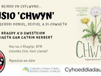 Poster Lansiad Chwyn